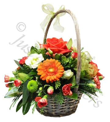 Orange Glory Basket