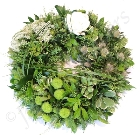 Textured Green Wreath