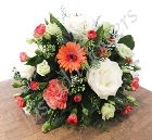 Orange and Cream Posy
